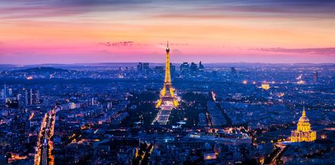 Foto auf Leinwand Eiffelturm Paris