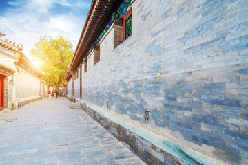 Traditional alley in Beijing, China