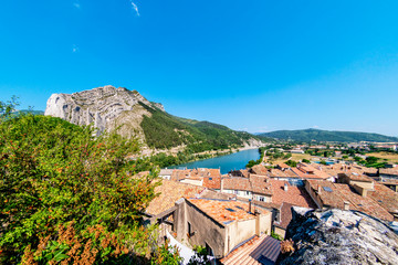 Über der Altstadt von Sisteron - Provence