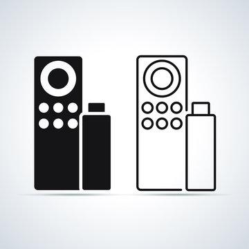 Vector llustration of remote control