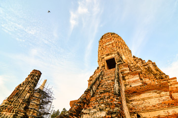 Old Thai Ruins, Ayutthaya, Beautiful photo picture taken in thailand, Asia