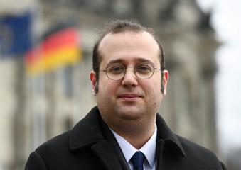 Erfan Kasraie is pictured in Berlin