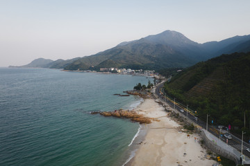 beach view in shenzhen china