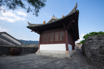 old temple in shenzhen china