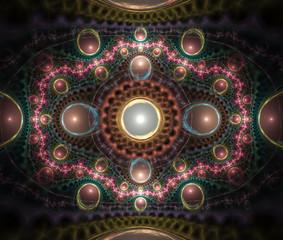 Julian Fractal Art Background