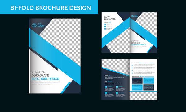 Bi fold Brochure Design Template