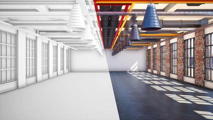 Büro im Loft Style   Revitalierung von alten Industriebrachen
