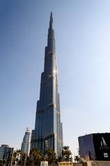 Burj Khalifa on November 29, 2014 in Dubai, UAE