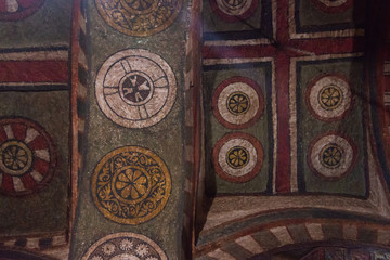 Lalibela church detail, Ethiopia