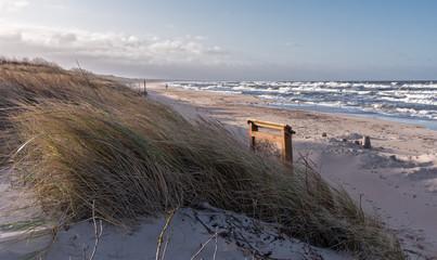 Darlowko westlicher Strand an der Ostsee