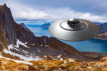 In de dag UFO An UFO on approach