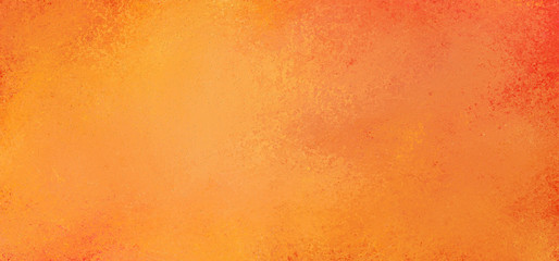 Orange background with hot fiery colors and old vintage texture design Wall mural