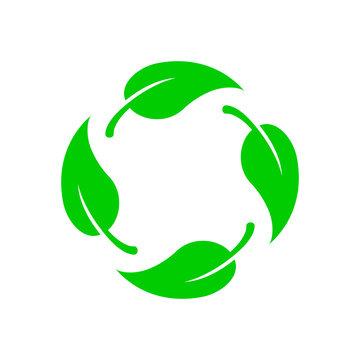 Biodegradable vector icon