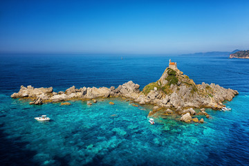 Island of the Holy Resurrection in Montenegro, Petrovac