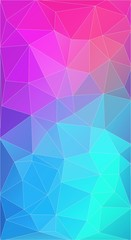 vertical background with triangle and circle shapes for web design