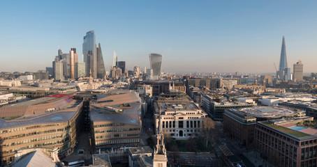 europe, UK, England, London, City skyline from St Pauls 2020