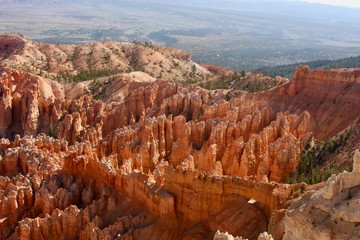 Natual bridge formation in Bryce Canyon