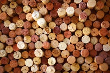 Türaufkleber Brennholz-textur FONDO CON TEXTURA DE CORCHOS