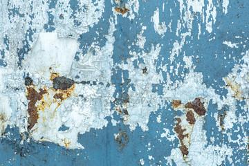 Obraz Old peeling paint texture on a wooden wall background. Pattern and texture of old dried paint and stucco on a rough surface - fototapety do salonu