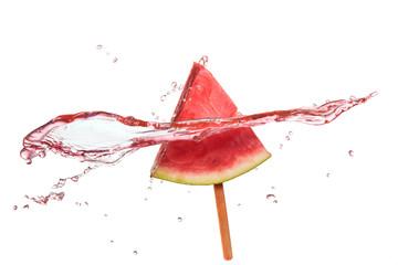 Slice of watermelon.