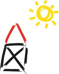 Sonnenenergie nutzen, nachhaltige und erneuerbare Energie, Photovoltaik, Solarstrom, Dachanlage, Energie der Sonne, Selbstversorger werden