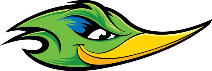 Roadrunner mascot Fotomurales