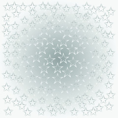 star background. background of stars in white, vector