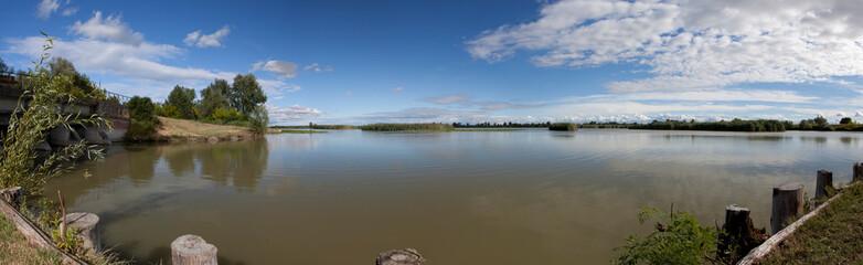oasi, valle, laguna,