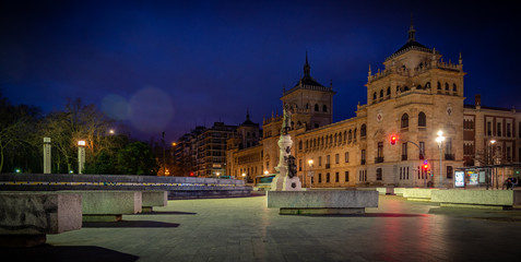 edificio de caballería museo militar en Valladolid España Europa