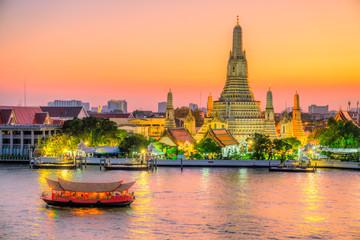 Fotorollo Bangkok Bangkok Wat Arun,Thailand