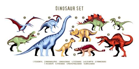 Dinosaur Color Set