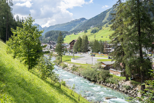 Saint Anton am Arlberg in Austria