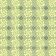 abstract flower pattern seamless background vectors