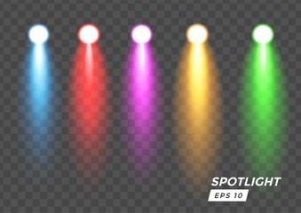 In de dag Licht, schaduw spotlight lighting color Graphic element vector