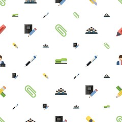 office icons pattern seamless