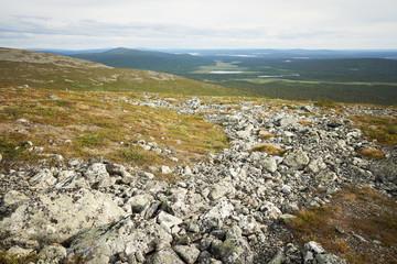 Lapland scenery at the fell Pallastunturi
