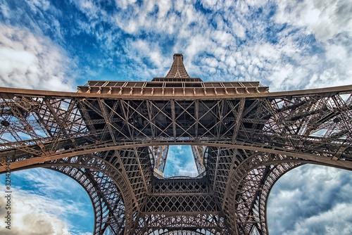Fototapete Eiffel tower in Paris