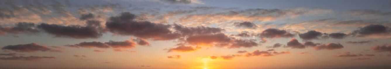 Cappuccino Panorama coucher de soleil