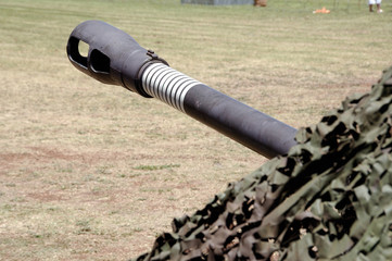 Barrel of a cannon