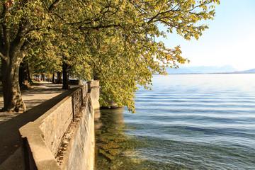 Ein warmer Herbsttag am Bodensee (Lindau)