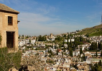 Spanish City of Granada