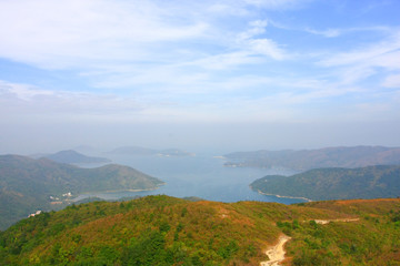 25 dec 2008 Famous MacLehose Trail Section 4 in Hong Kong, China