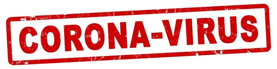 nlsb1279 NewLongStampBanner nlsb - german label / banner - deutsch - Stempel: Corona-Virus - 4zu1 - new-version - xxl g9015