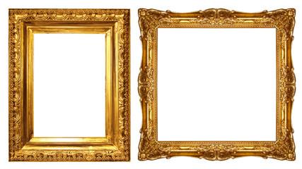 gold picture frame Papier Peint