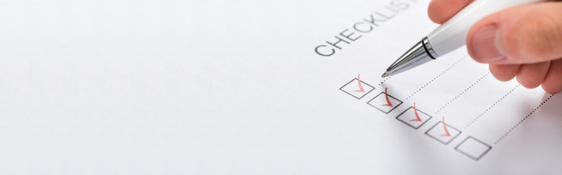 Pen Over Filled Checkboxes