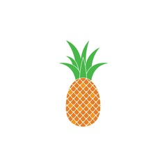 pineapple icon vector illustration design