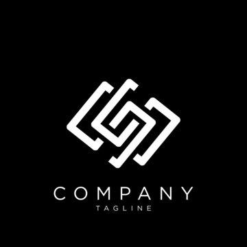 ss logo design vector icon