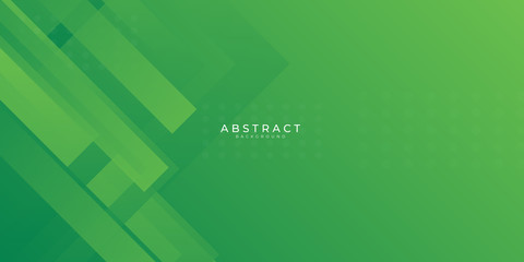 Modern green web header abstract background. Vector illustration design