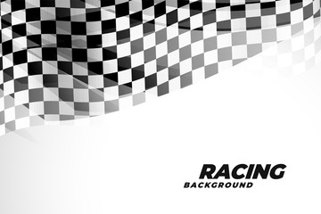 checkred flad background for sports and racing Fototapete