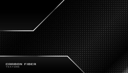 abstract geometric dark carbon fiber background design